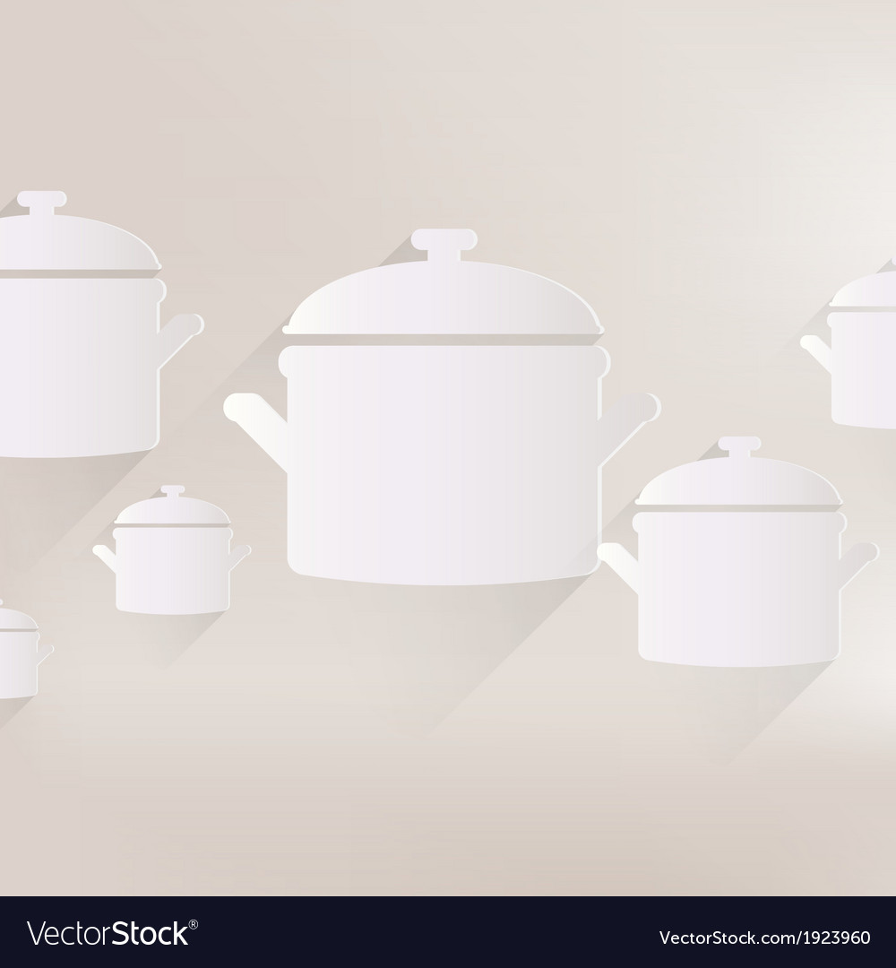 Kitchen pan icon vector | Price: 1 Credit (USD $1)