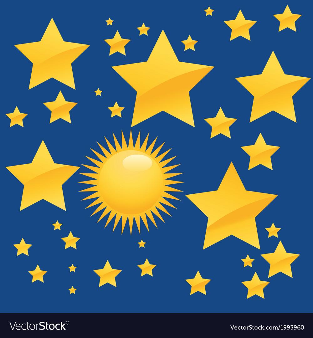 The stars vector | Price: 1 Credit (USD $1)