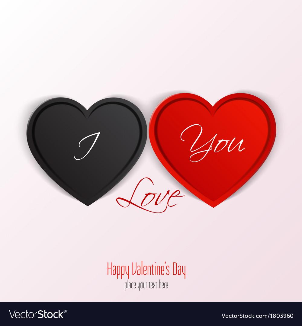 Valentine card 2 vector | Price: 1 Credit (USD $1)