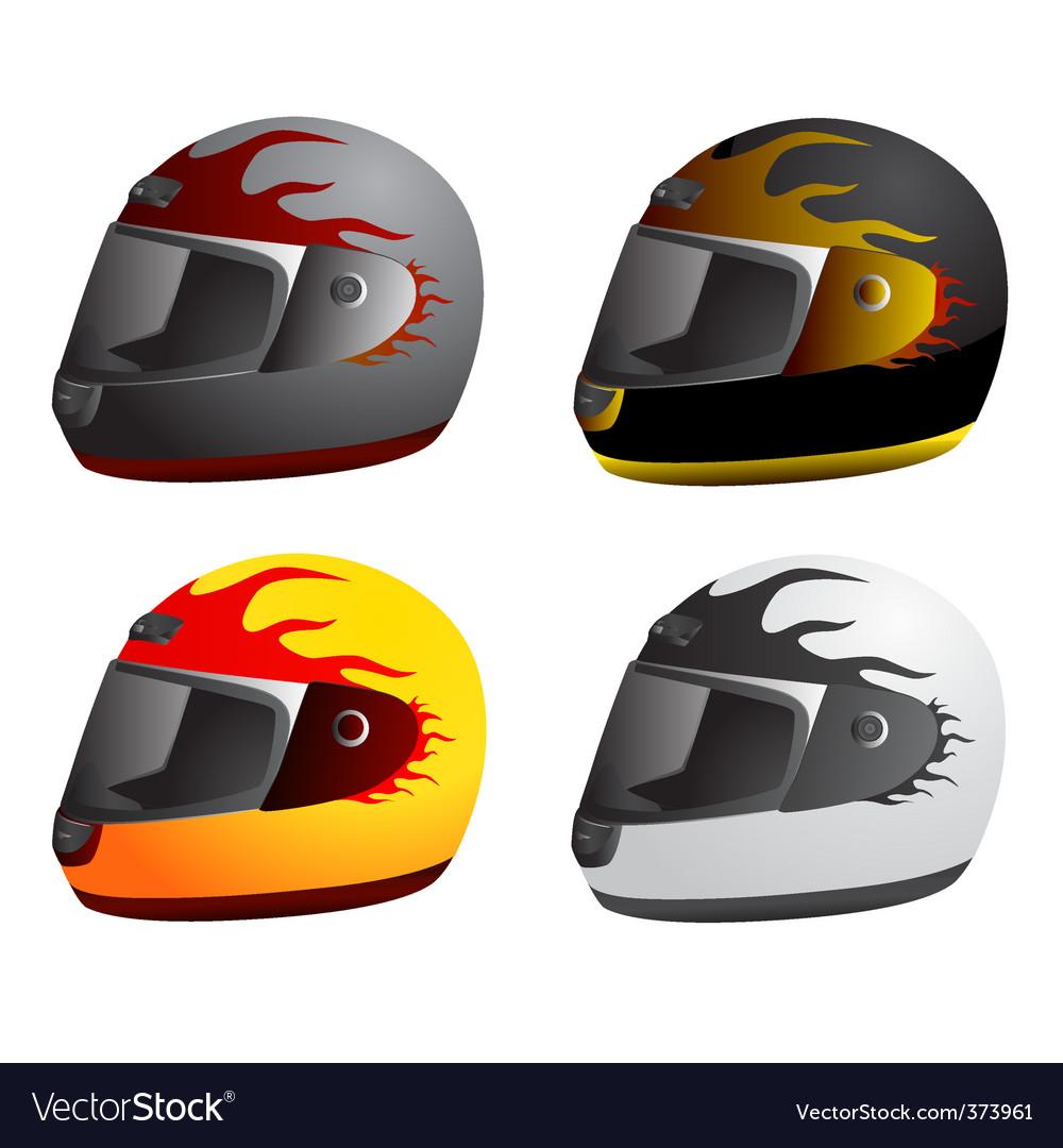 Motorcycle helmet vector | Price: 1 Credit (USD $1)