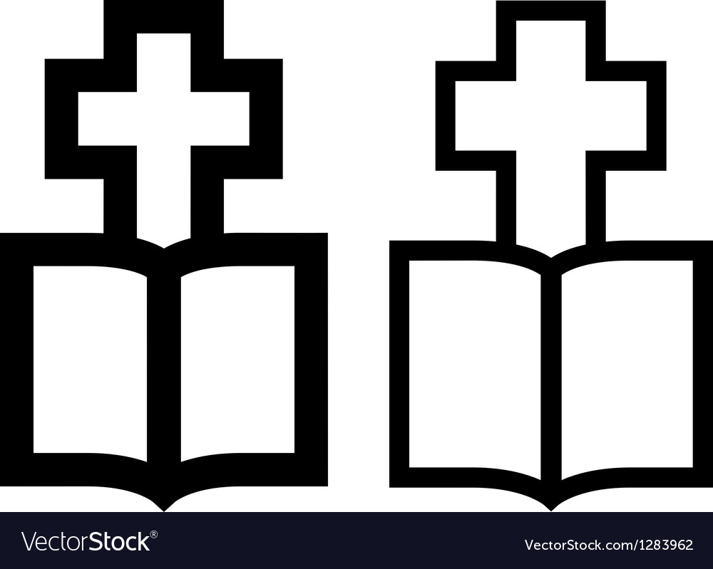 Cross-bible vector | Price: 1 Credit (USD $1)