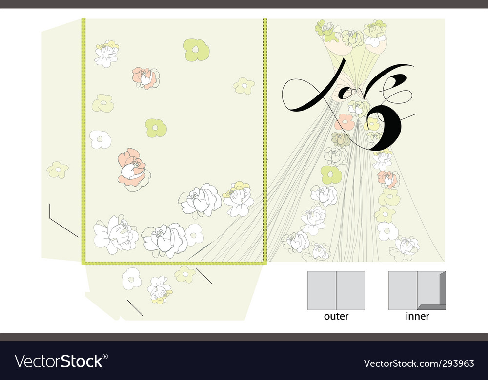 Decorative folder vector | Price: 1 Credit (USD $1)