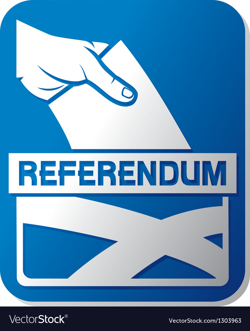Scottish independence referendum vector | Price: 1 Credit (USD $1)