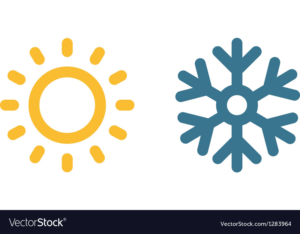 Climate symbol vector | Price: 1 Credit (USD $1)