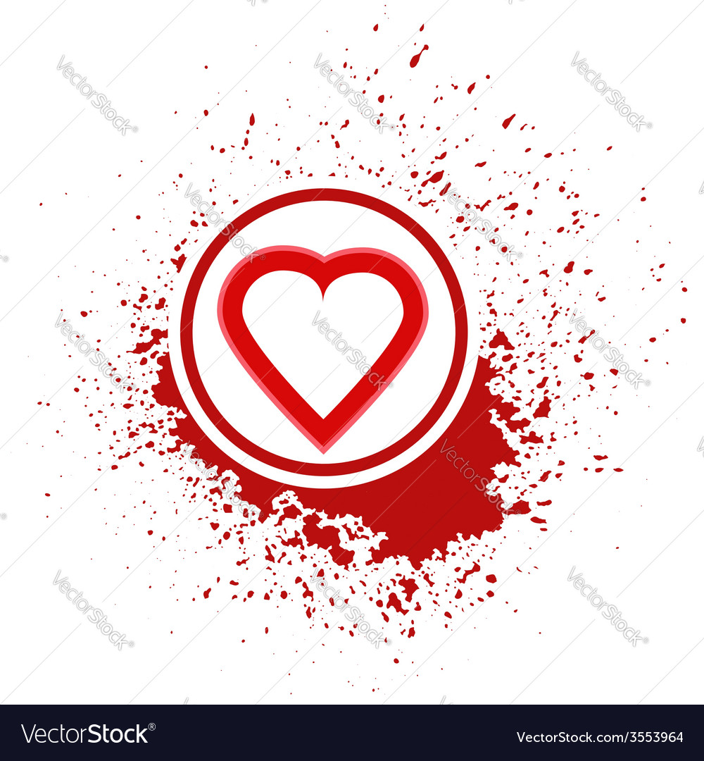 Heart icon vector | Price: 1 Credit (USD $1)