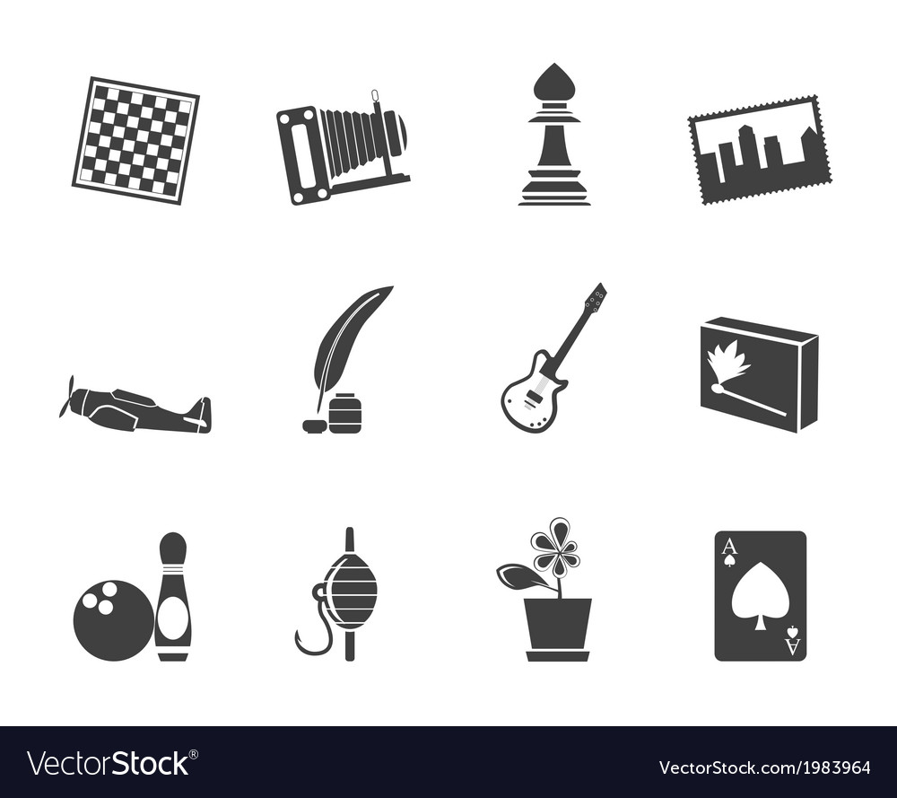 Leisure and holiday icons vector | Price: 1 Credit (USD $1)