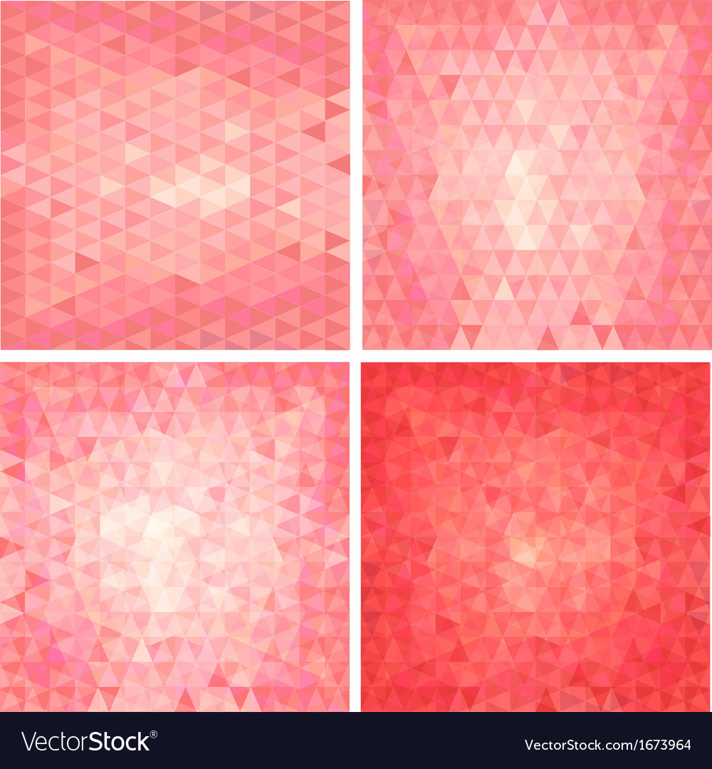Pink triangular background vector | Price: 1 Credit (USD $1)