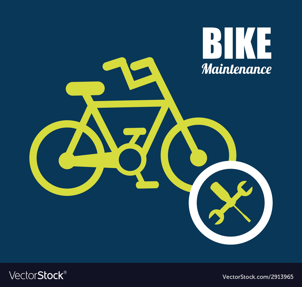 Bike maintenance vector | Price: 1 Credit (USD $1)