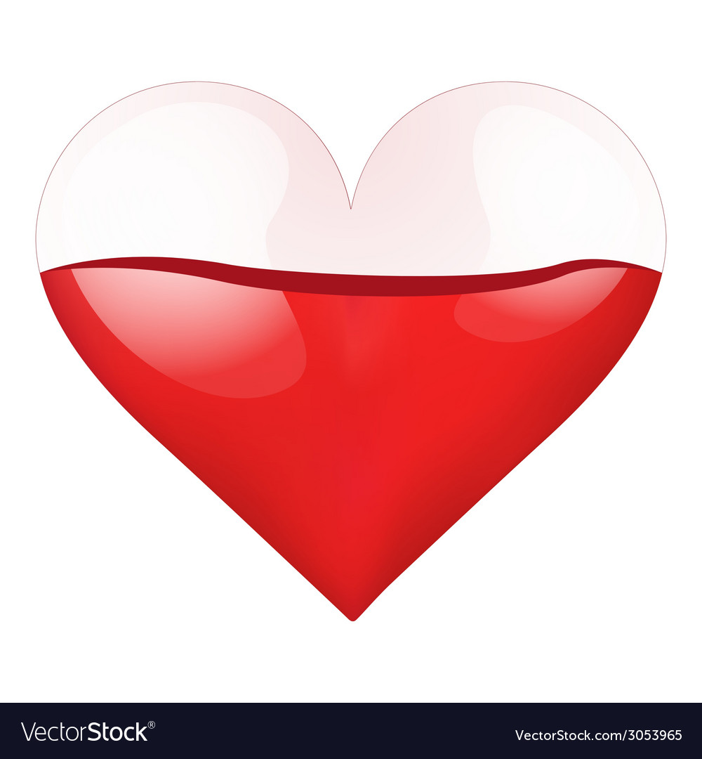 Container heart with blood-filled vector | Price: 1 Credit (USD $1)