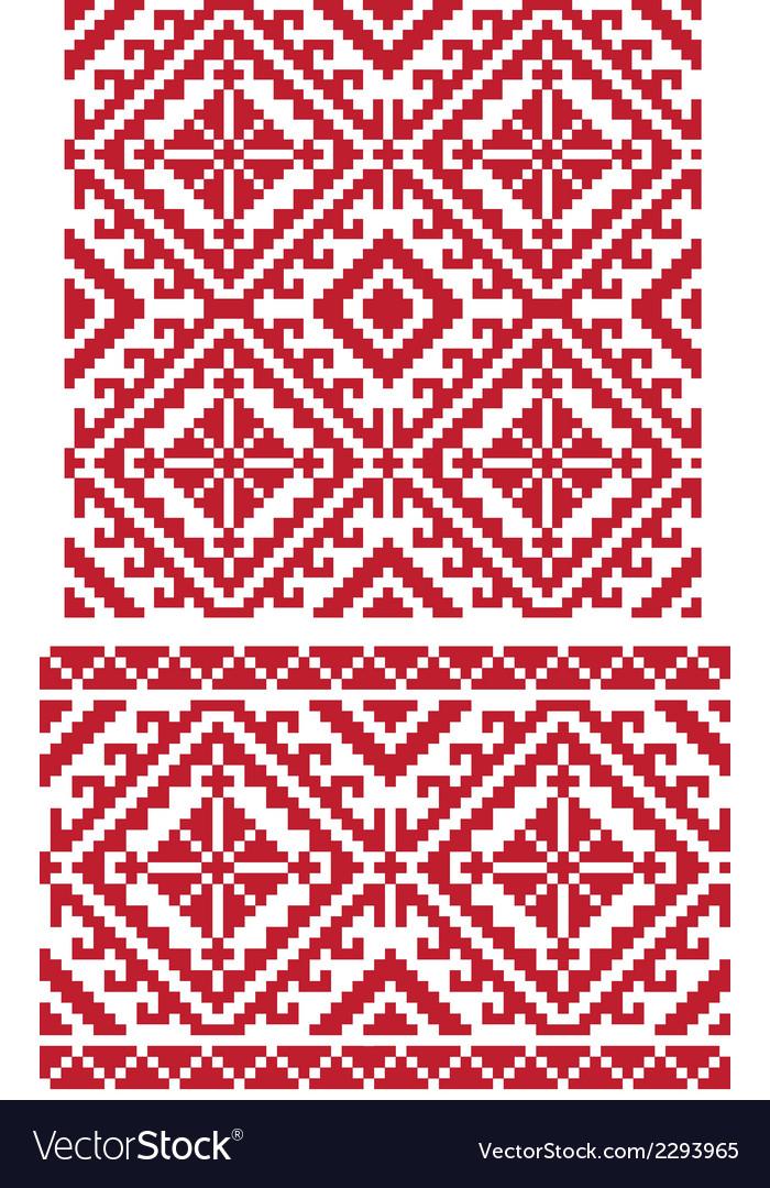 Folk ukrainian pattern vector | Price: 1 Credit (USD $1)