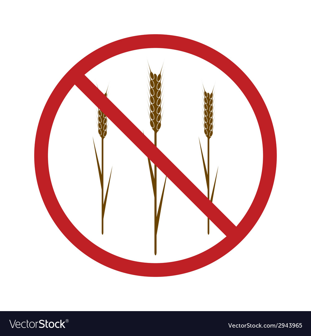 Gluten free icon vector | Price: 1 Credit (USD $1)