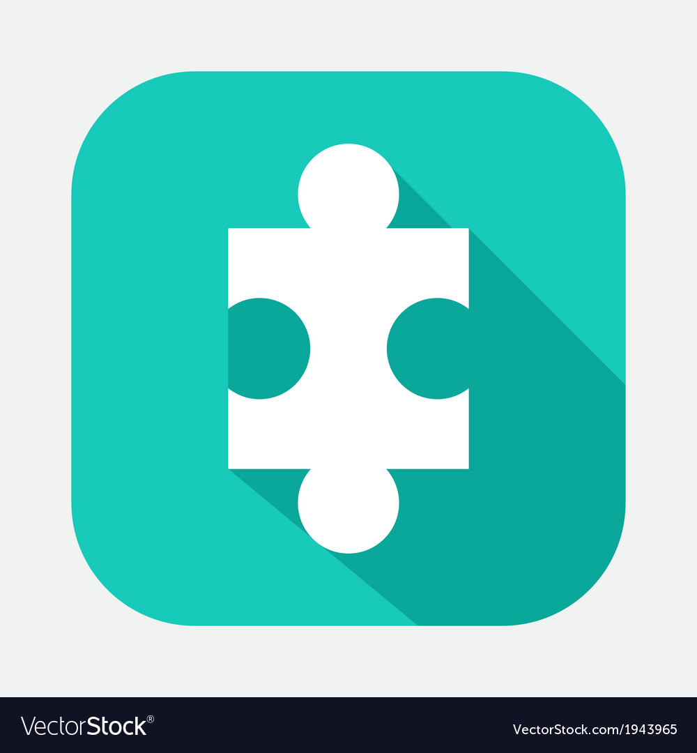 Piece of the puzzle vector | Price: 1 Credit (USD $1)