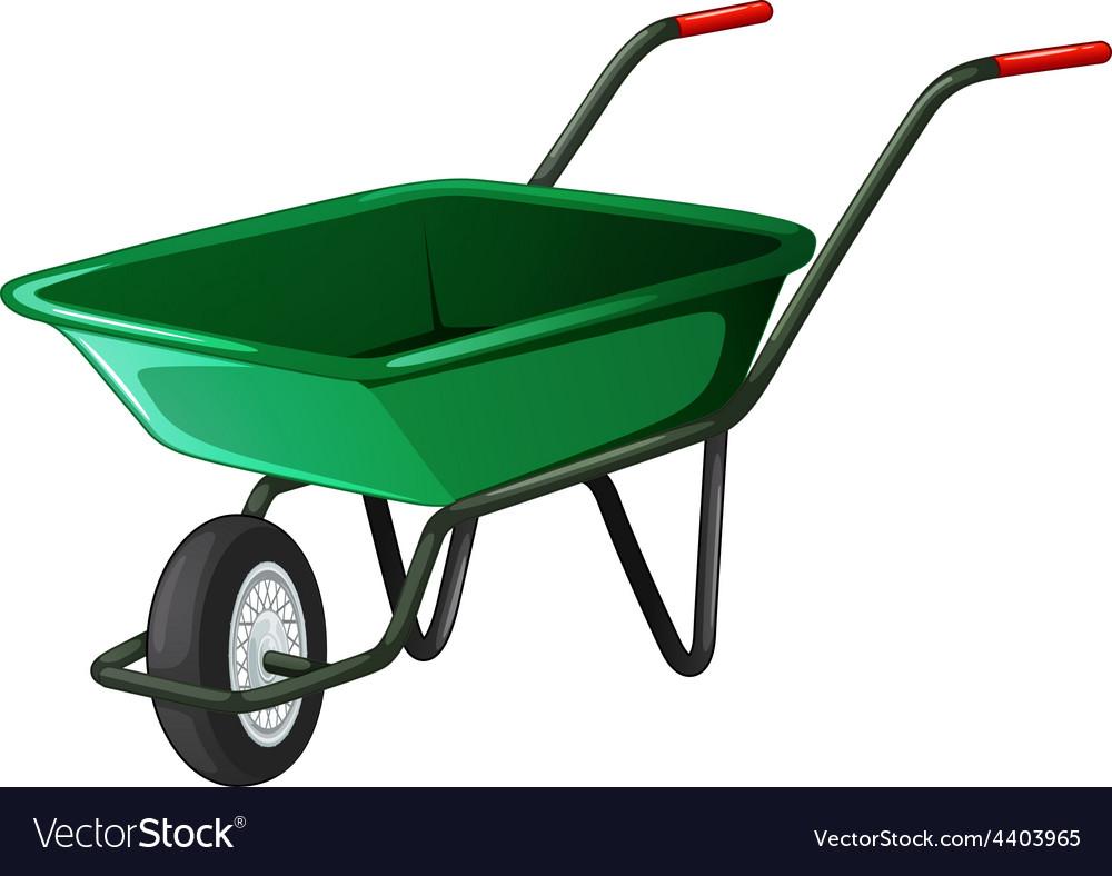 Wheel barrow vector | Price: 1 Credit (USD $1)