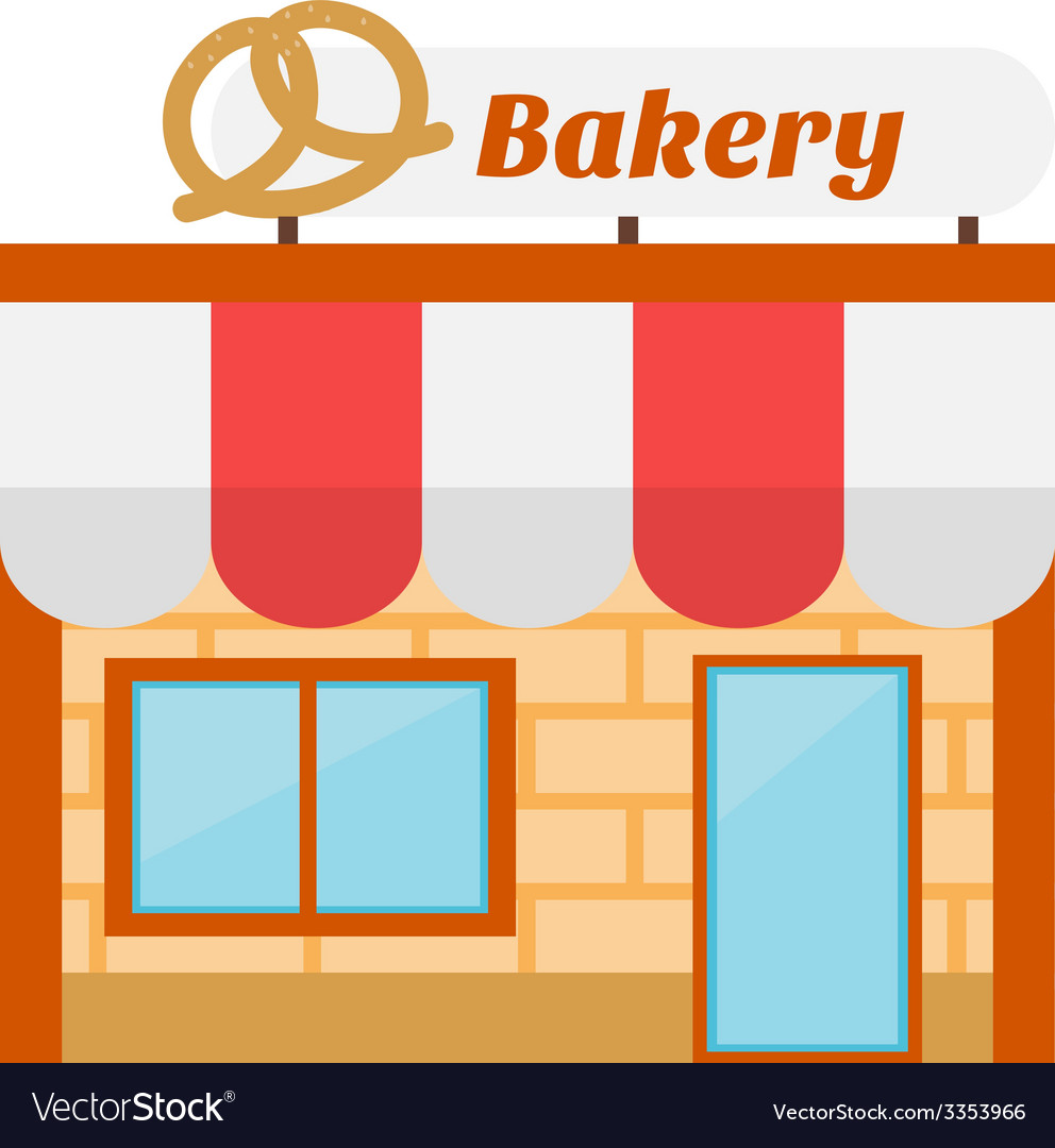 Bakery icon made in flat design vector | Price: 1 Credit (USD $1)