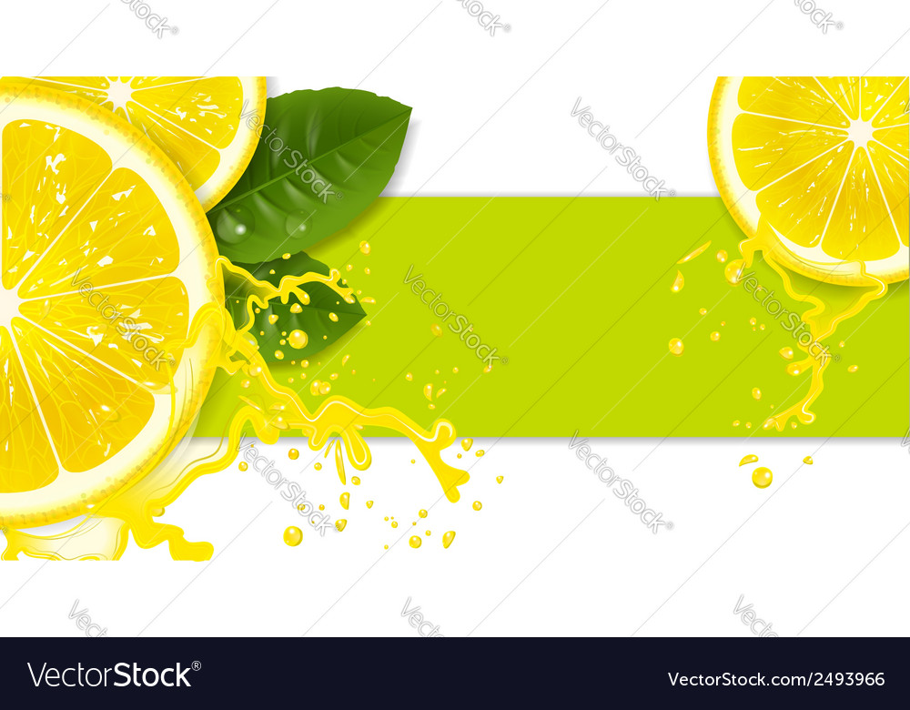 Lemon background vector | Price: 1 Credit (USD $1)
