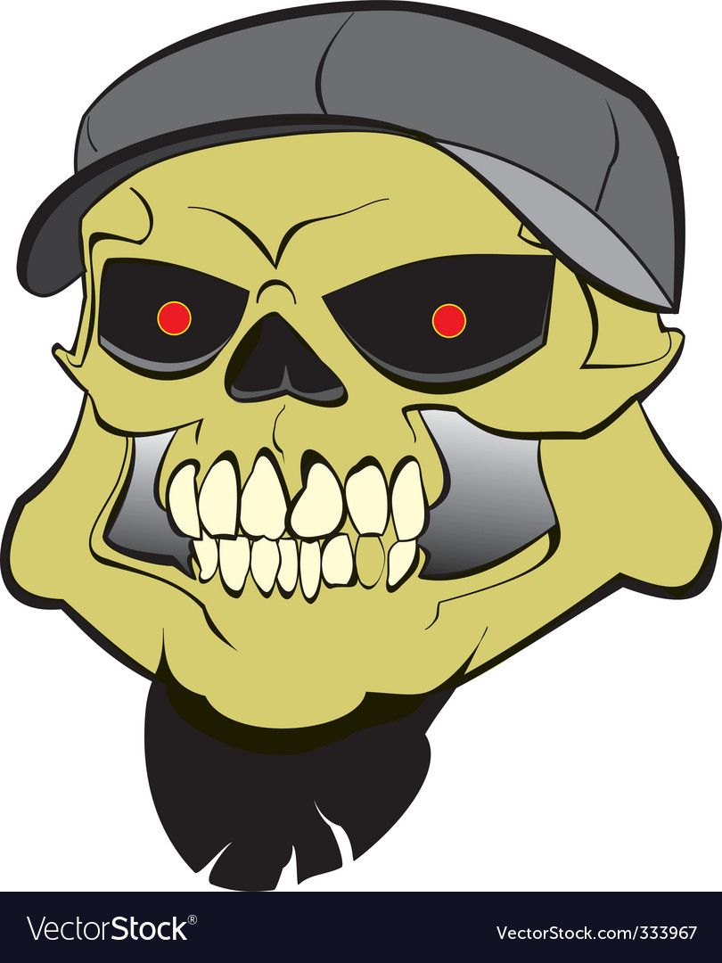 Hard core skull vector | Price: 1 Credit (USD $1)
