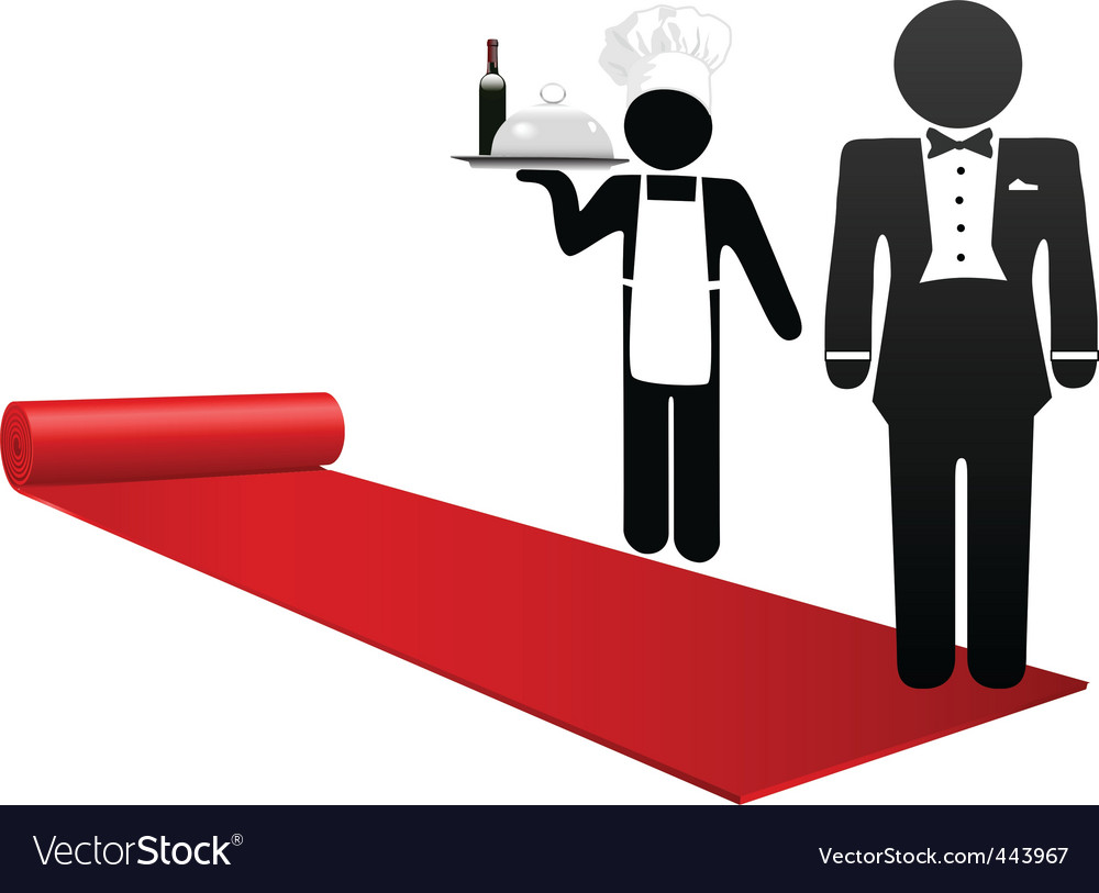 Hospitality industry vector | Price: 1 Credit (USD $1)