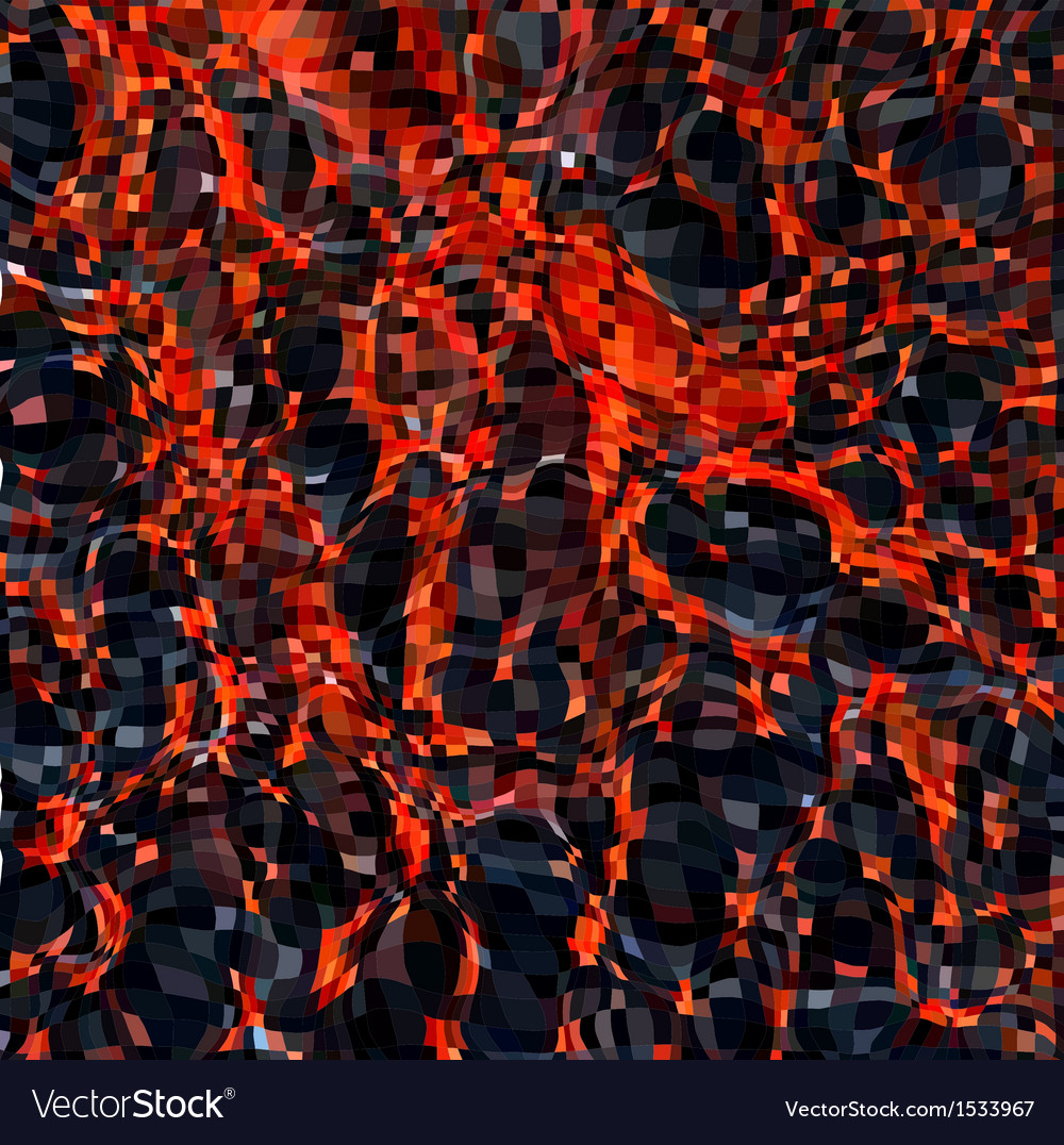 Hot molten lava abstract background vector | Price: 1 Credit (USD $1)
