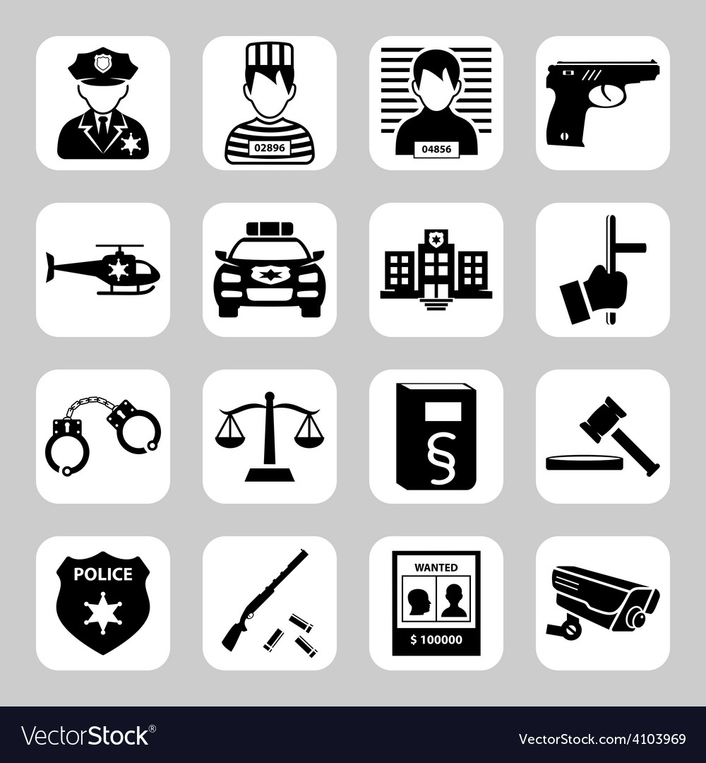 Criminal and prison vector | Price: 1 Credit (USD $1)