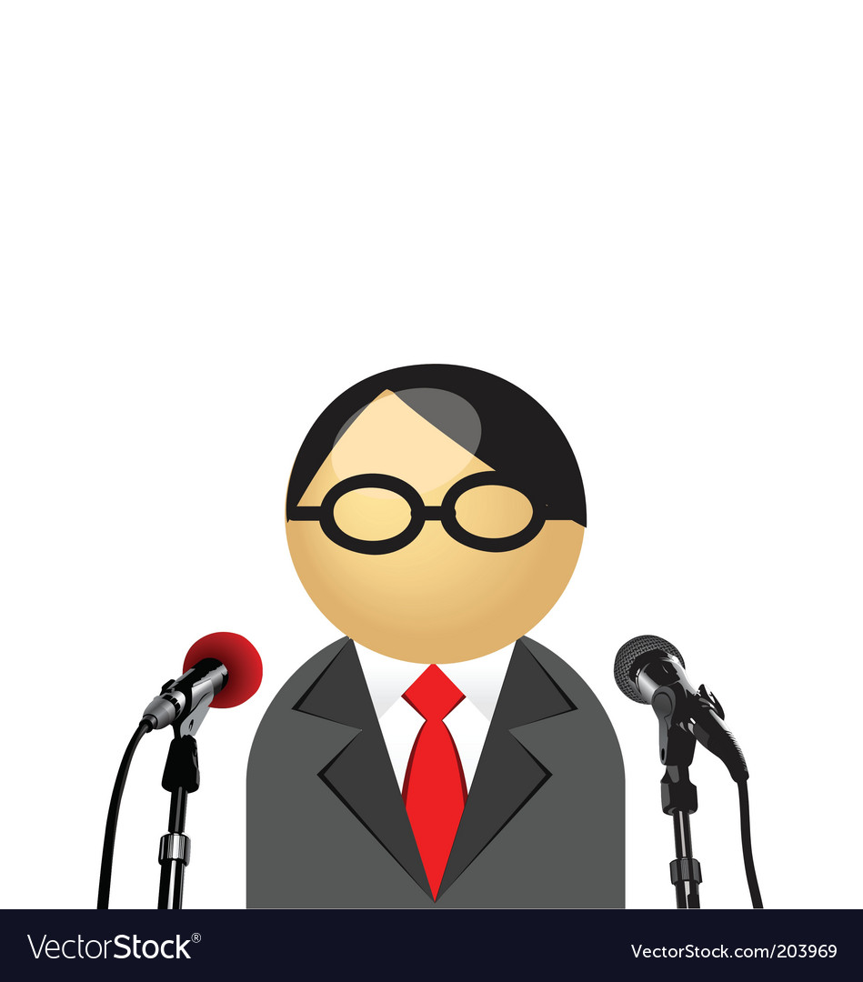 Interview icon vector | Price: 1 Credit (USD $1)