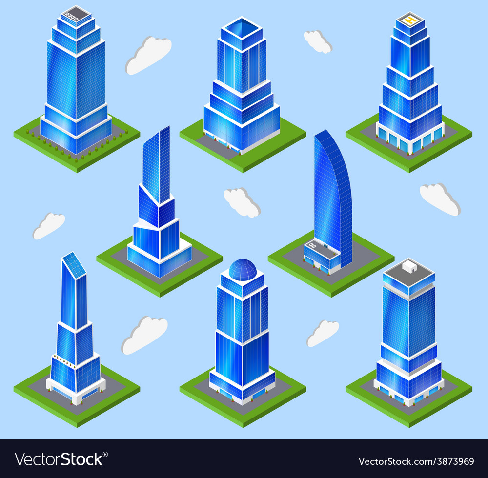 Office industry planning element vector | Price: 1 Credit (USD $1)