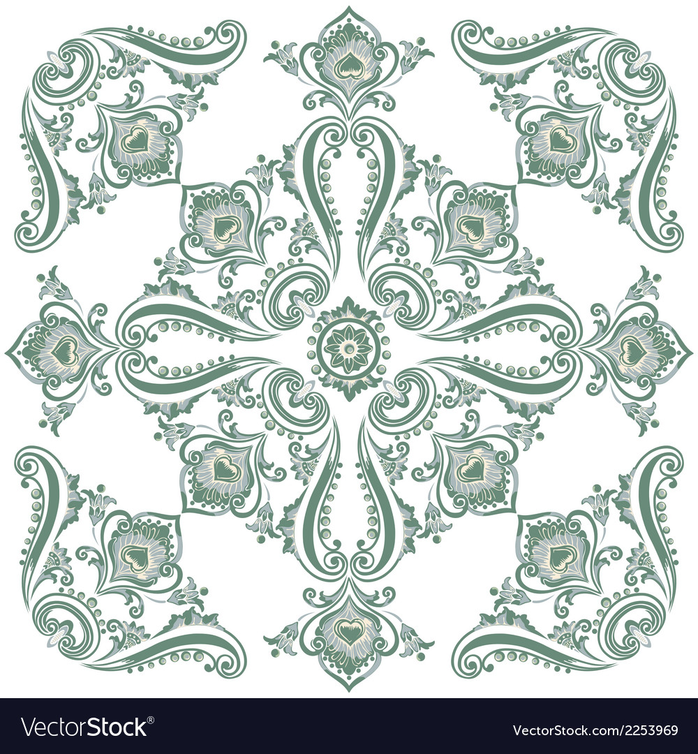 Pattern green vector | Price: 1 Credit (USD $1)