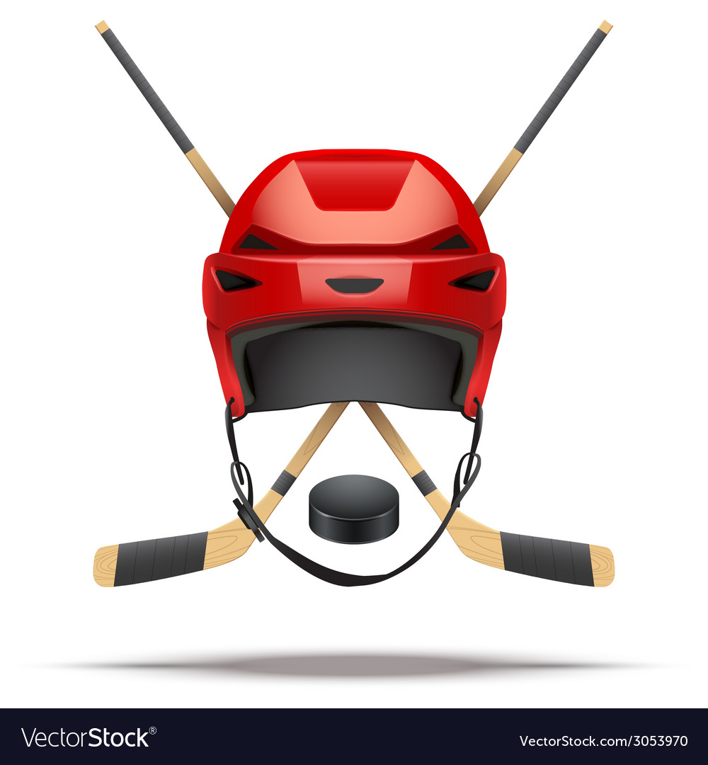 Ice hockey symbol design elements vector | Price: 1 Credit (USD $1)