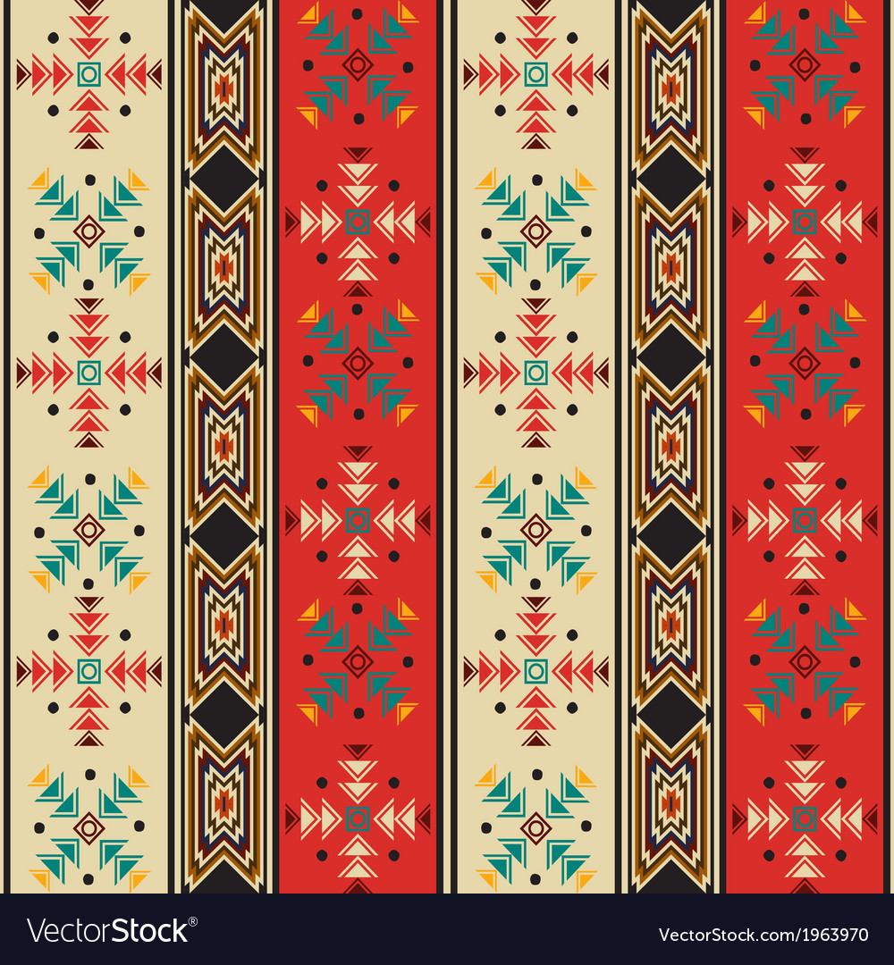 Navajo style pattern vector | Price: 1 Credit (USD $1)