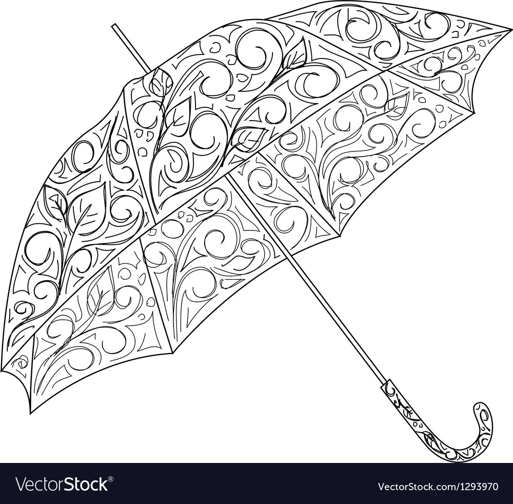 Umbrella vector | Price: 1 Credit (USD $1)