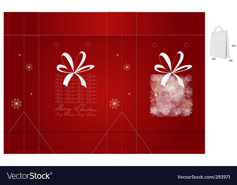 Gift bag vector | Price: 1 Credit (USD $1)