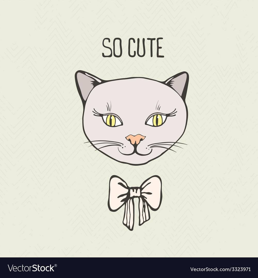 Kittycat10 vector | Price: 1 Credit (USD $1)