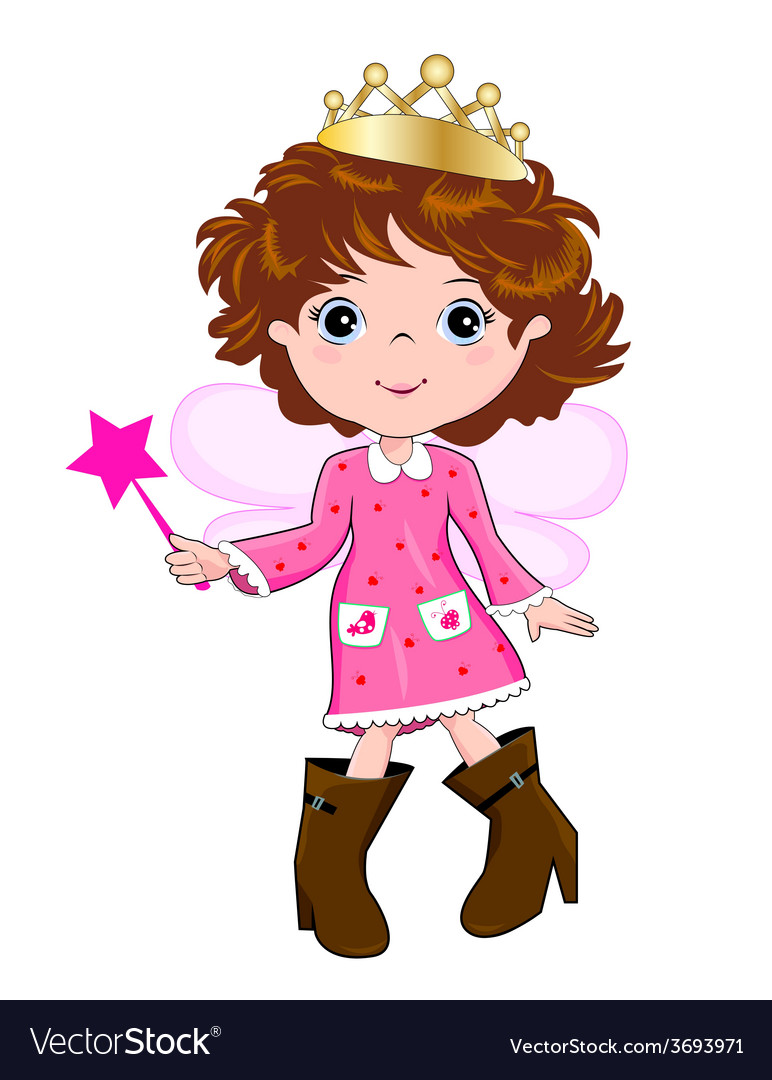 Little princess vector | Price: 1 Credit (USD $1)