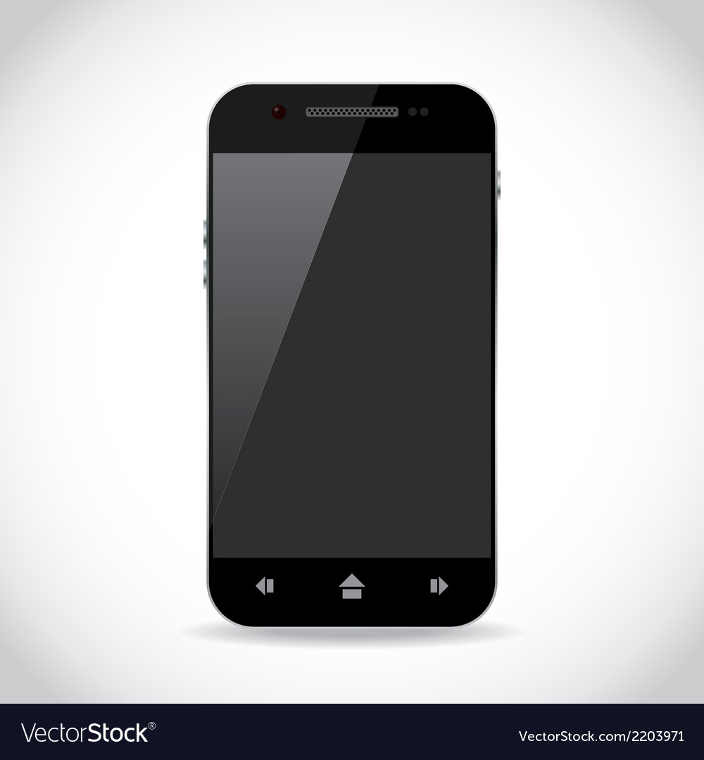 Smartphone vector | Price: 1 Credit (USD $1)