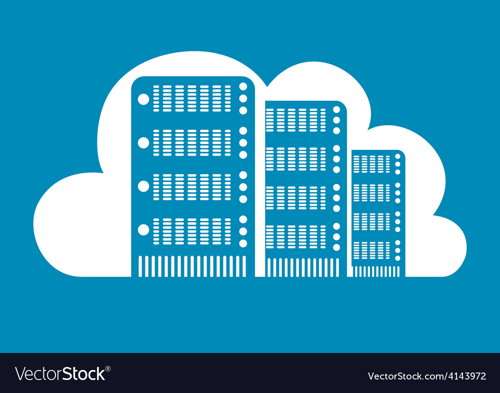 Cloud computing design vector | Price: 1 Credit (USD $1)