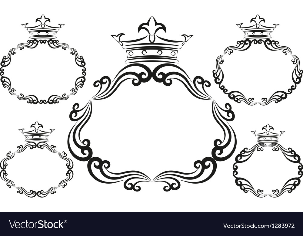 Decorative frames vector | Price: 1 Credit (USD $1)
