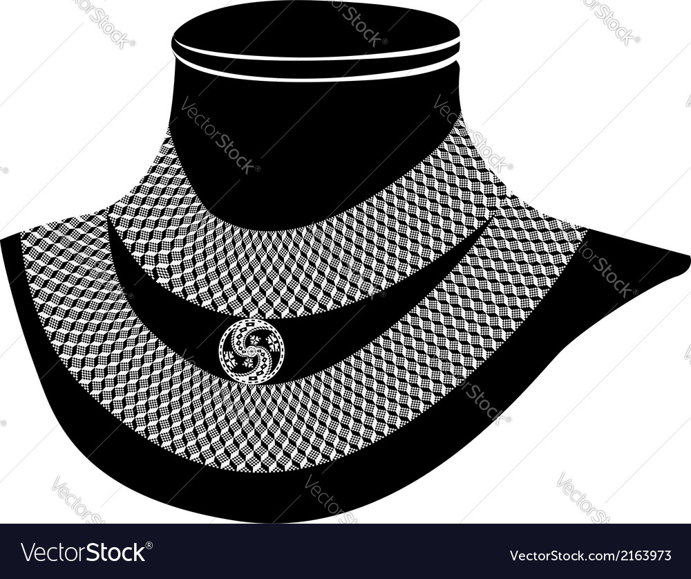 Ancient necklace vector | Price: 1 Credit (USD $1)