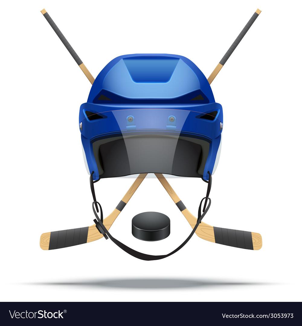Ice hockey symbol design elements vector   Price: 1 Credit (USD $1)