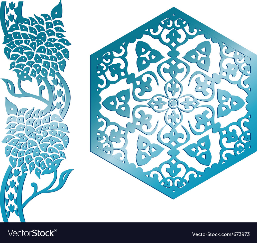 Islamic design element vector | Price: 1 Credit (USD $1)