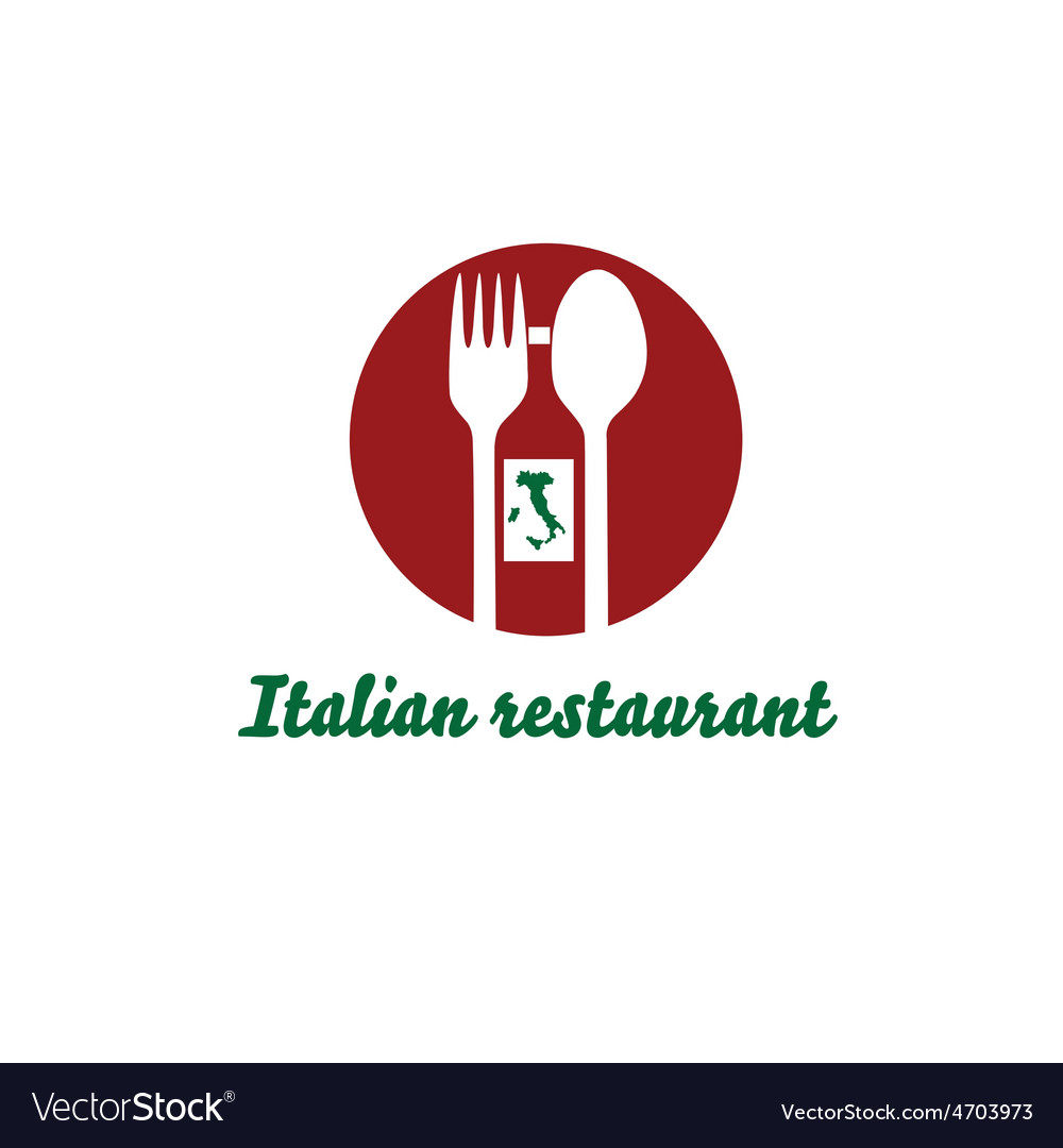 Italian restaurant design template vector | Price: 1 Credit (USD $1)