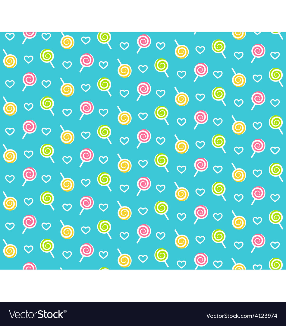 Seamless bright childish abstract pattern with vector | Price: 1 Credit (USD $1)