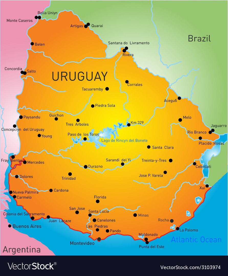 Uruguay vector | Price: 1 Credit (USD $1)