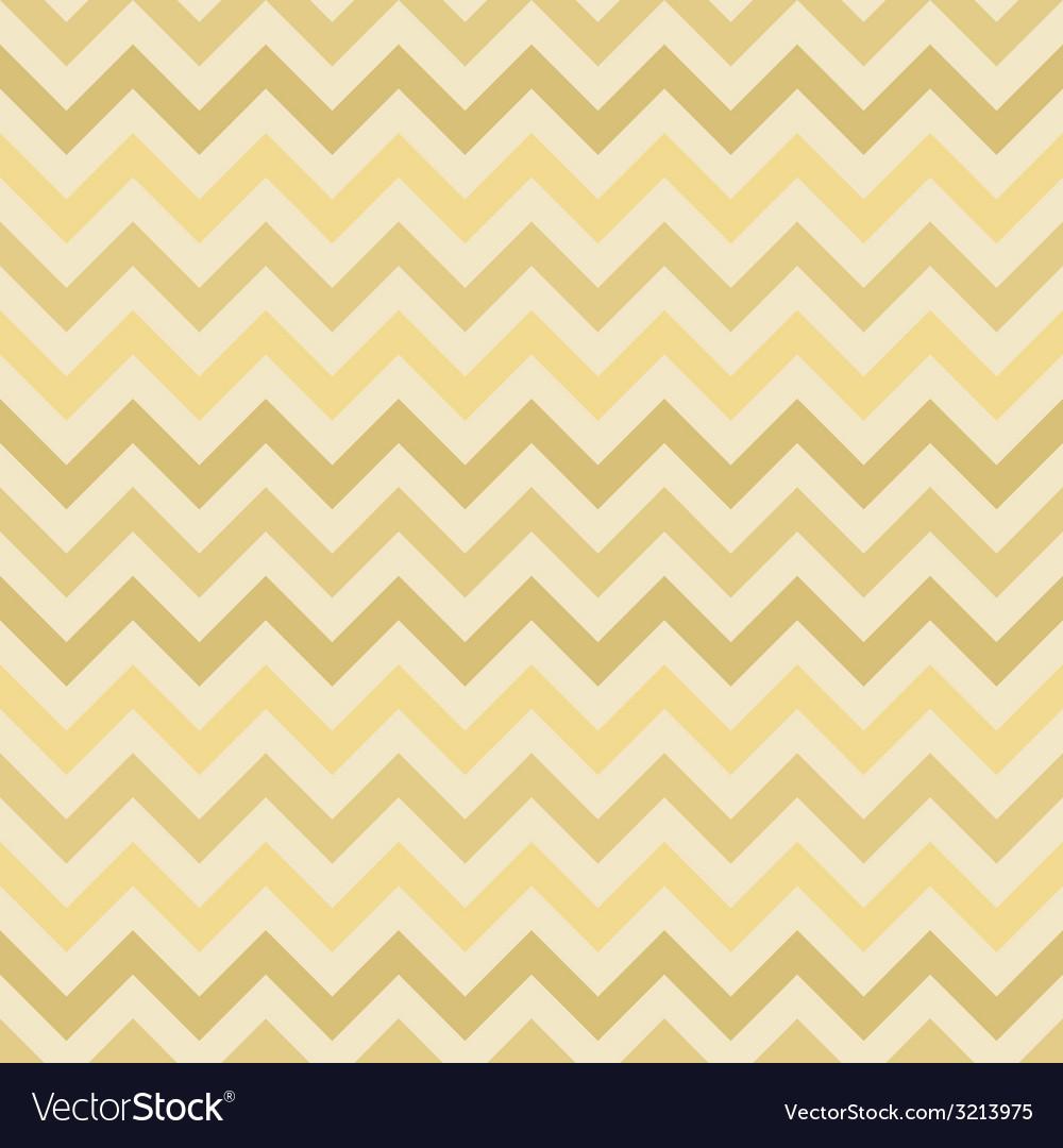 Retro gold zigzag chevron pattern vector | Price: 1 Credit (USD $1)