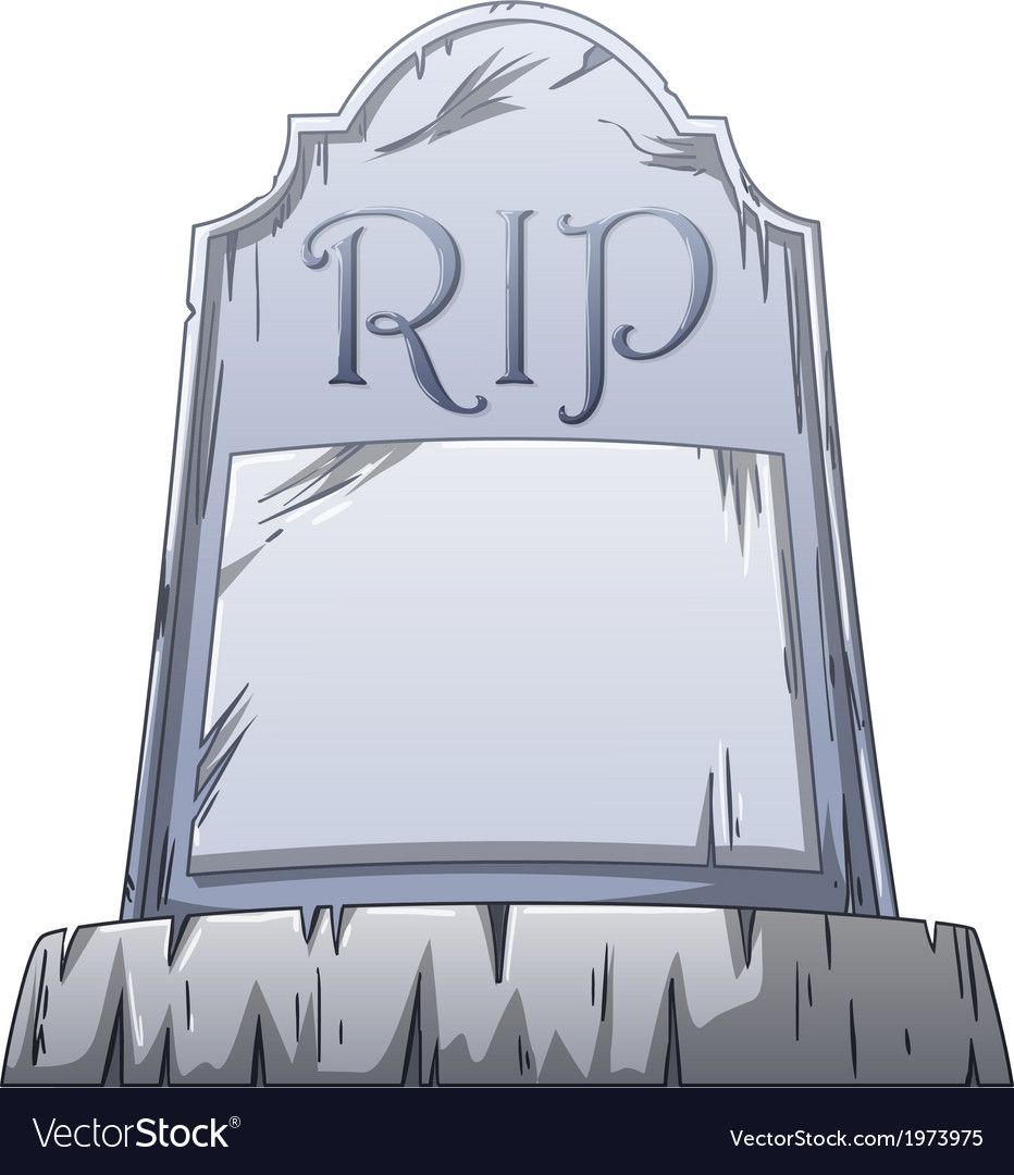 Rip grave vector | Price: 1 Credit (USD $1)