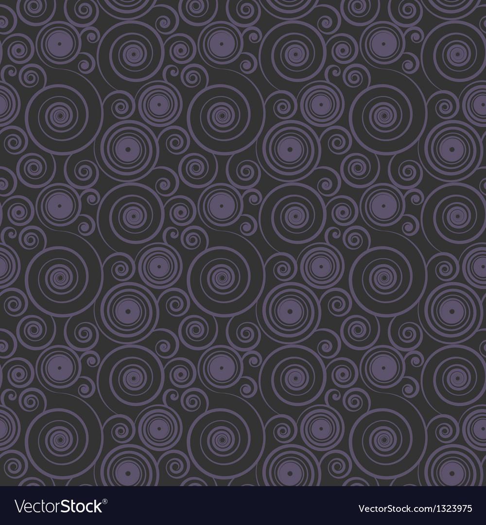 Seamless spiral pattern vector | Price: 1 Credit (USD $1)