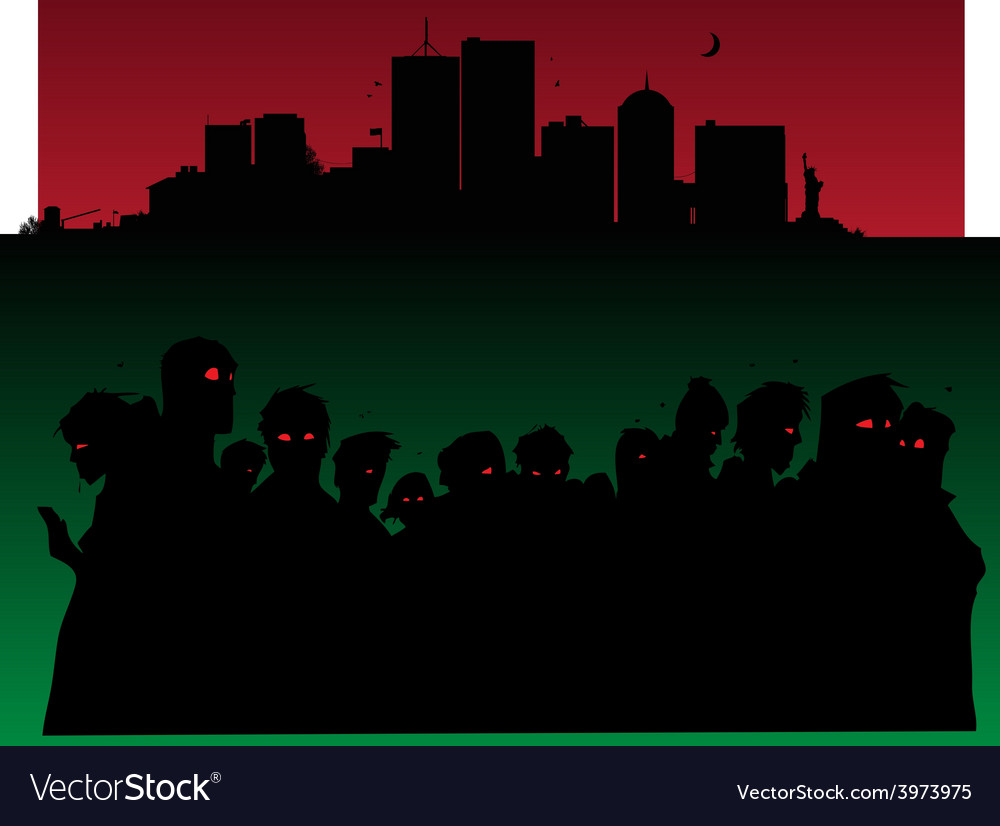 Zombies invasion vector | Price: 1 Credit (USD $1)