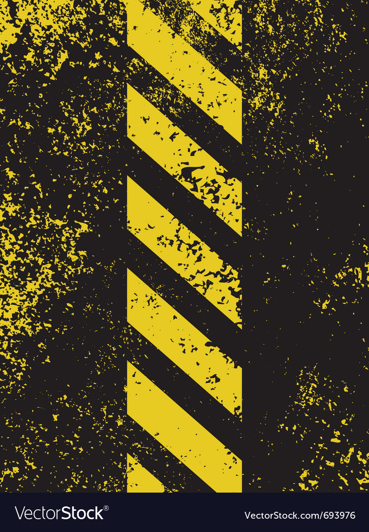 Grungy hazard vector | Price: 1 Credit (USD $1)