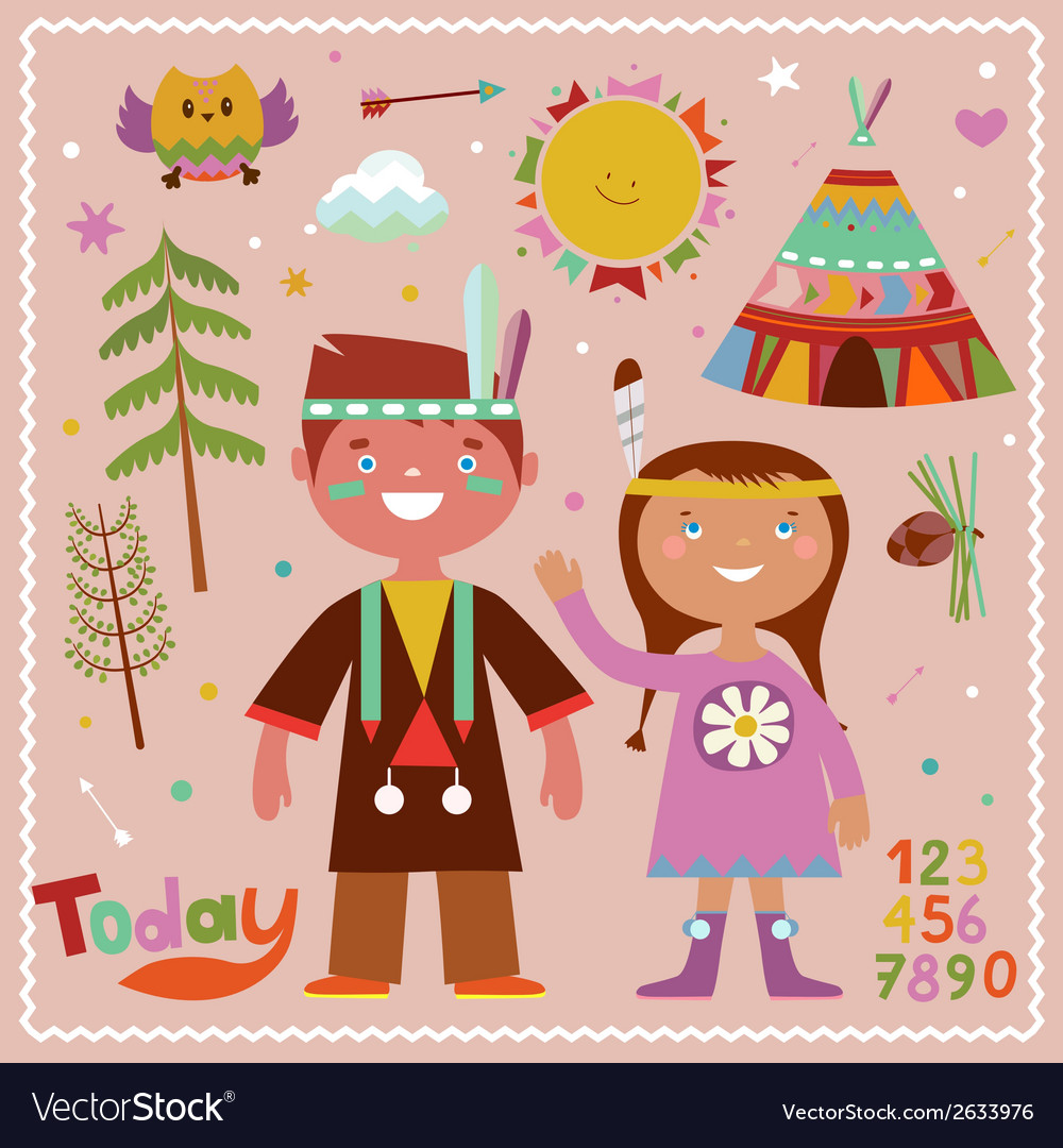 Holiday graphics in indian style vector | Price: 1 Credit (USD $1)