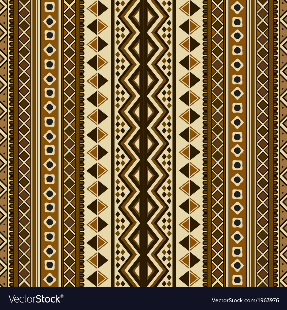 Seamless ethnic pattern vector | Price: 1 Credit (USD $1)