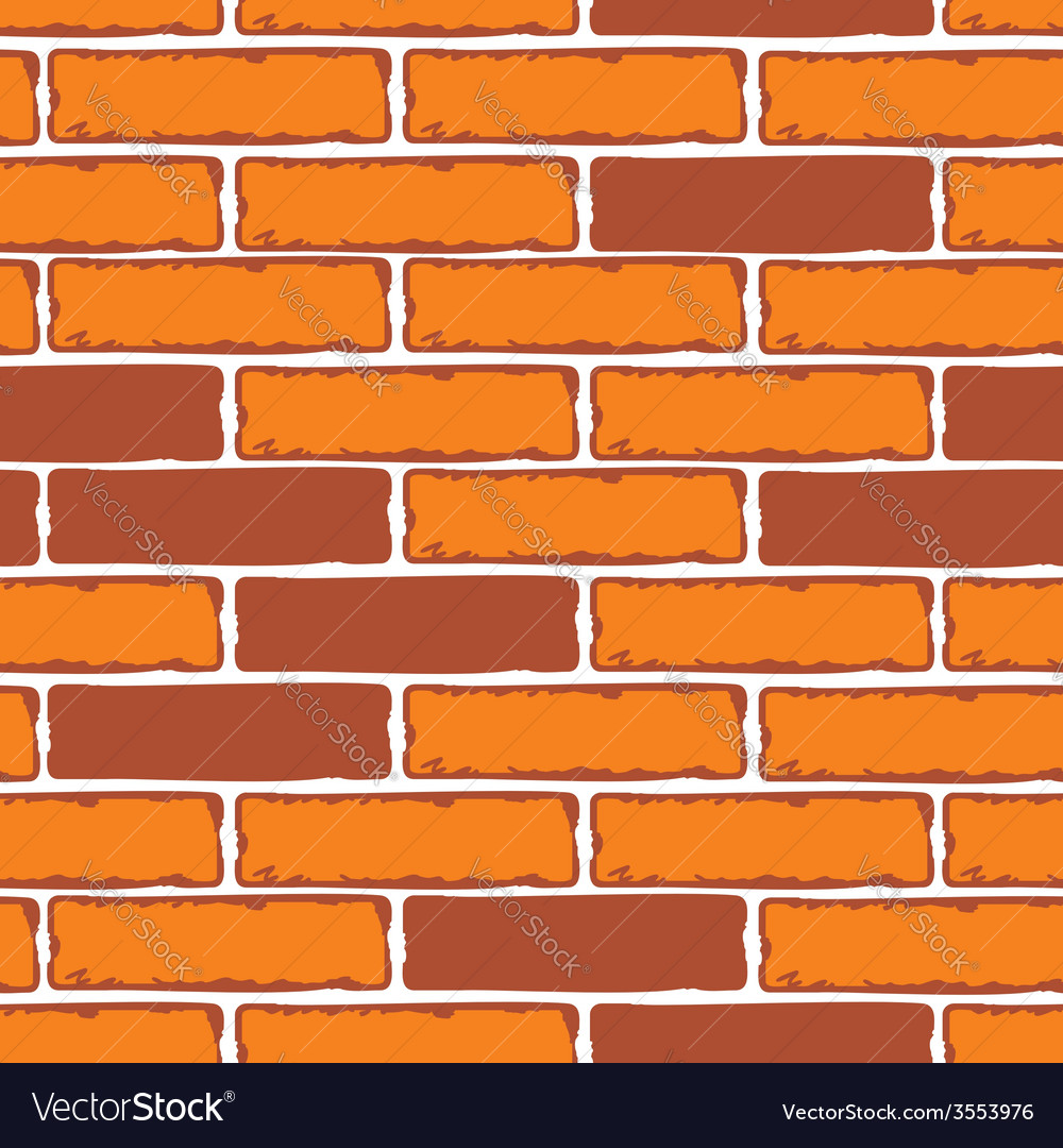 Seamless patterns of brick walls stock vector | Price: 1 Credit (USD $1)