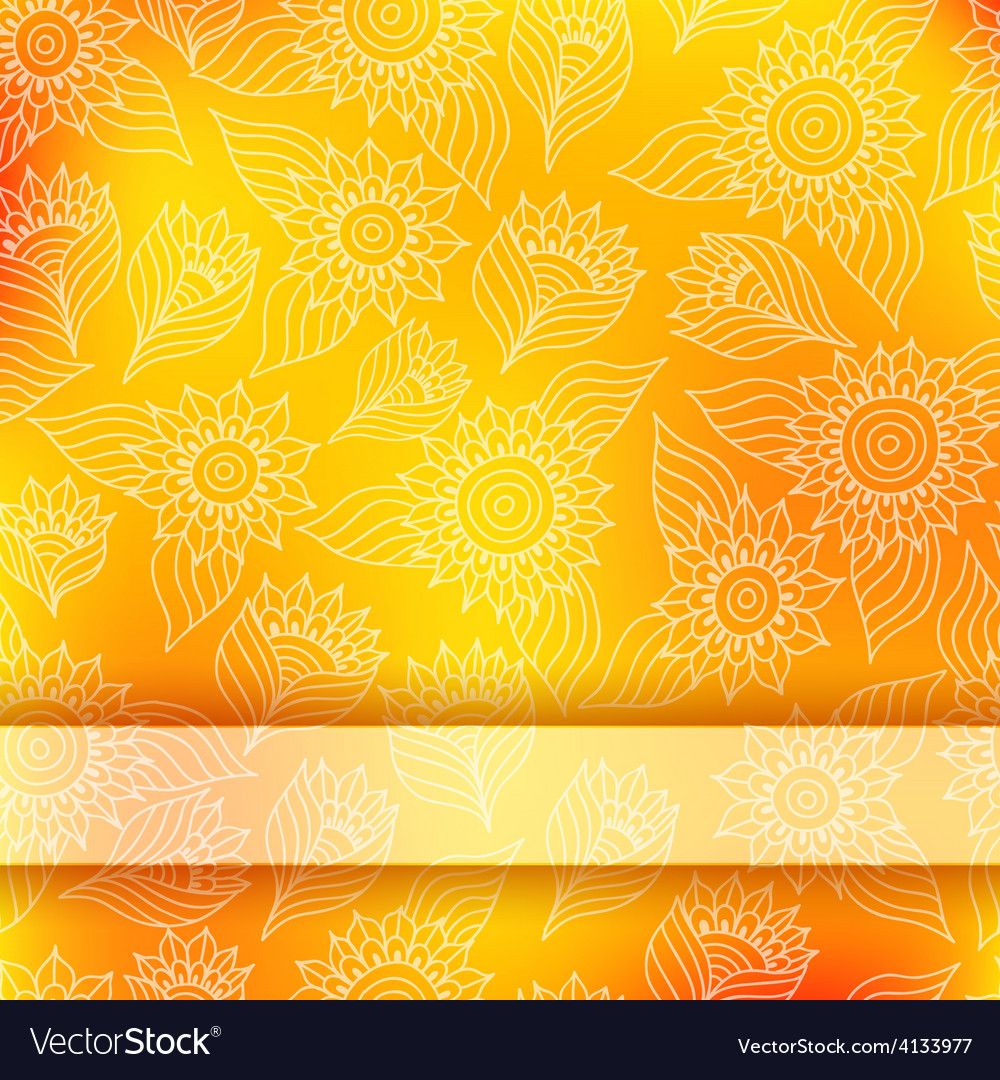 Bright invitation card with lace ornament vector | Price: 1 Credit (USD $1)